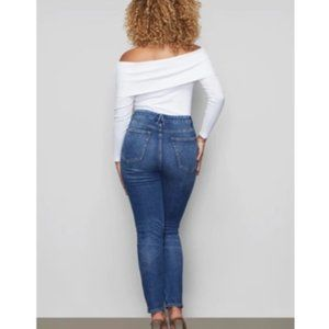 Good American Jeans - NWT Good Curve Skinny High Waisted Denim